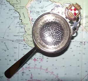 SS Empress of Australia Canadian Pacific Line Tea Strainer