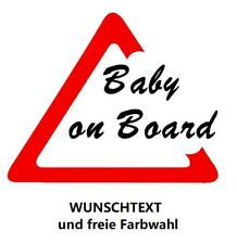 Babyaufkleber Kinderaufkleber Auto Aufkleber Baby on Board Sicher Wunschtext  23