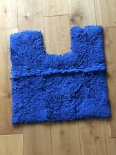 Blue Bathroom Pedestal Mat New