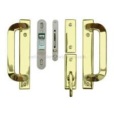 Andersen DOOR Hardwar Anvers 2-Panel Gliding DooR Set - Bright Brass # 2565539
