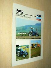 Prospectus Tracteur FORD NEW HOLLAND S10F2 (2) Tractor Traktor Prospekt Brochure