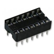 14 Pin DIL IC Socket, QTY: 34-OFF, PCB, 7.62mm, BAG of 34