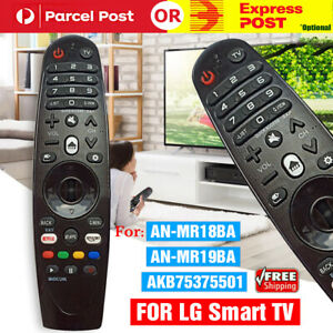 Smart Remote Control Replacement Mate Voice For LG Magic TV AM-HR600 AN-MR600
