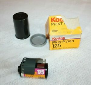 Kodak Plus-X Pan 125 Black-and-White Print film print film, PX 135-24 exposures