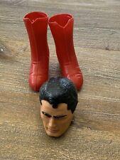 1966 Vintage Ideal Captain Action Superman MASK &  Boots VGC