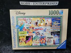 Ravensburger Disney Vintage Movie Posters 1000 pc Puzzle 19874 P-84