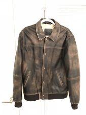 ASOS Men 100% Real Leather Jacket Size L