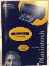 HP 970C Deskjet Printer User Guide For Macintosh OEM Hewlett Packard C6429-90096