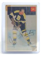 1954-55 Joe Klukay #54 Boston Bruins Right Wing Parkhurst Hockey Card I208