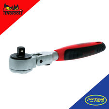 1400-72SN - Teng Tools - 1/4 Inch Drive - Flex Head Ratchet - 72 Teeth