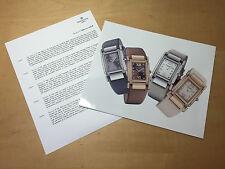 Press Release PATEK PHILIPPE Model Twenty-4 Ref. 4920 R/G & Ref. 4920 R