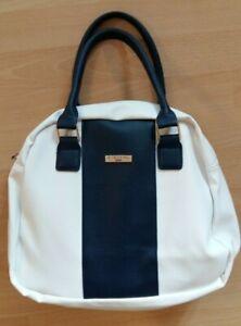 Süße Handtasche von Eternal Love, blau-weiß, neuwertig!