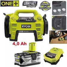 Ryobi One + 18v Batterie radio r18r-0 +4,0 Ah Batterie + Chargeur Nachf. CDR 180 M