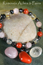 To REMOVE ACHES & PAINS - A POWER BRACELET 4 Health Wealth & Happiness & 2 Books