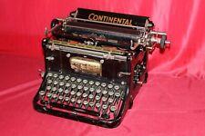 alte Schreibmaschine um 1920 CONTINENTAL Wanderer Werke - typewriter N2