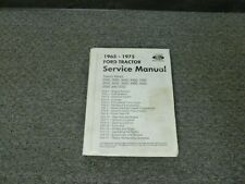 1965-1969 Ford 5000 7000 3400 Tractor Shop Service Repair Manual 1966 1967 1968