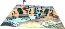 KIDS ARMY SOLDIERS PLAYSET MILLITARY PLAYMAP SET ADEVNTURE ROLEPLAY TRUCKS