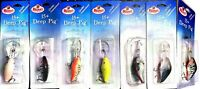 Vintage Mann's 15 + Deep Pig Fishing Lure - Choice of Color & Count ( One Lure )