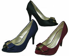 Special Occasion Court Slim Textile Shoes for Women