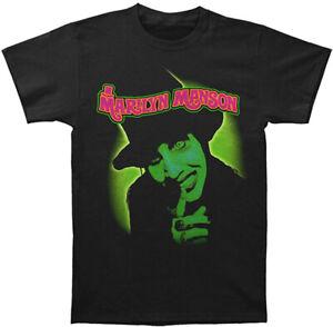 Marilyn Manson Smells Like Children Men's Black T-Shirt Licensed S M L XL