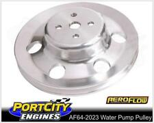 Aeroflow Billet Water Pump V Pulley Ford V8 302 351 4 Bolt Cleveland AF64-2023