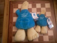 2 x Phevos Soft Toys large & small Athens 2004 official merchandise Mascot Bnwt