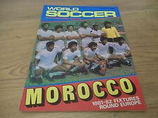 September World Soccer Magazines