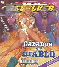 LA LEY DEL REVOLVER MEXICAN COMIC #740 MEXICO SPANISH HISTORIETA 2013