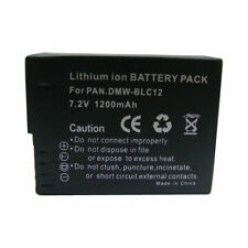 DMW-BLC12 Battery for Panasonic Lumix DMC-FZ200 DMC-FZ300 DMC-FZ1000 DMC-GH2 G6