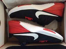 Nike Men's FS Lite Trainer Shoes-size 11.5 (Black/Red/White)
