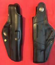 Black Leather RH Holster for Zastava M70A,Tokarev TT-33 M57 TTC formed molded,Nw