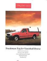 VAUXHALL BRAVA TRUCKMAN 'TOP'  VAN SALE 'BROCHURE'/SHEET