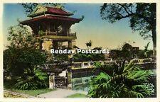 indochina, Vietnam, TONKIN HANOI, Pagode de Confucins (1950s) Tinted RPPC