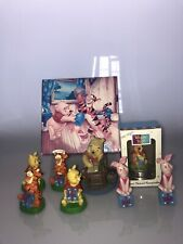 Disney Winnie the Pooh Bundle:Simply Pooh/ Cake Toppers/ Silver Plated Keepsake