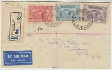 AUSTRALIA 1931 pretty 3 colours air mail issues on reg FDC *MELBOURNE-SYDNEY*