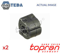 2x TOPRAN FRONT ANTI-ROLL BAR STABILISER BUSH KIT 722 926 G NEW OE REPLACEMENT