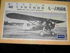 Raccoon Resin 1/48 Nakajima Type 91 Parasol Fighter Resin Kit #48-17 Very Rare