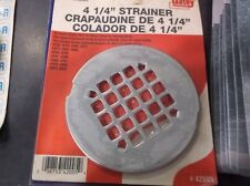 Oatey 42005 Universal Snap Tite Shower Strainer Stainless Steel