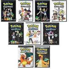 Pokemon Black & White + Rival Destinies + Unova Adventures Complete Box/DVD Sets