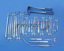 BASIC LAPAROTOMY Set of 104 Instruments German Steel A+