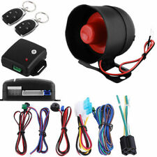 Car Vehicle Auto Burglar Alarm Protection Keyless Entry Security System 2Remote+