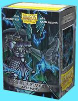 100 DRAGON SHIELD KING ATHROMARK III STANDARD CLASSIC ART Card Sleeve Royals ccg