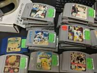 Lot of 5 N64 Games - NO DUPLICATES - Hey You Pikachu WWF Attitude and More!