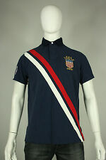 Ralph Lauren polo shirt L 2012 USA Olympic team new blue red white