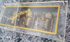 Vintage Laurel Three Movement Music Box - Souvenir from M.G.M. Grand Hotel Vegas