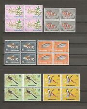 SINGAPORE 1966-67 SG 83/8 MNH Cat £104