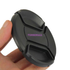 55mm Lens Cap Snap on Clip with String f Olympus Panasonic Pentax Samsung Sony