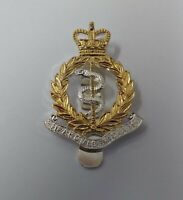 Genuine British Army RAMC  Royal Army Medical Corps Issue Dress Hat Badge - NEW