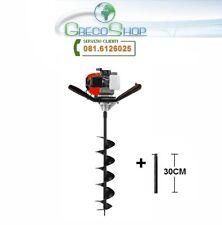 Trivella/Perforatrice/Trapano perforatore a scoppio 51,7cc professionale 80x15cm