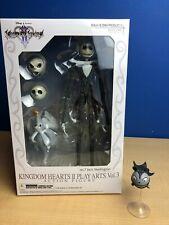 Kingdom Hearts 2 Play Arts Jack Skellington Figure Disney BONUS SCARY TEDDY NEW